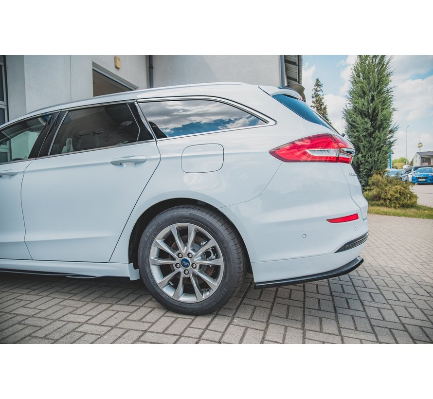 Maxton Design CENTRAL REAR DIFFUSER Ford Mondeo Estate Platinium Mk5 Facelift