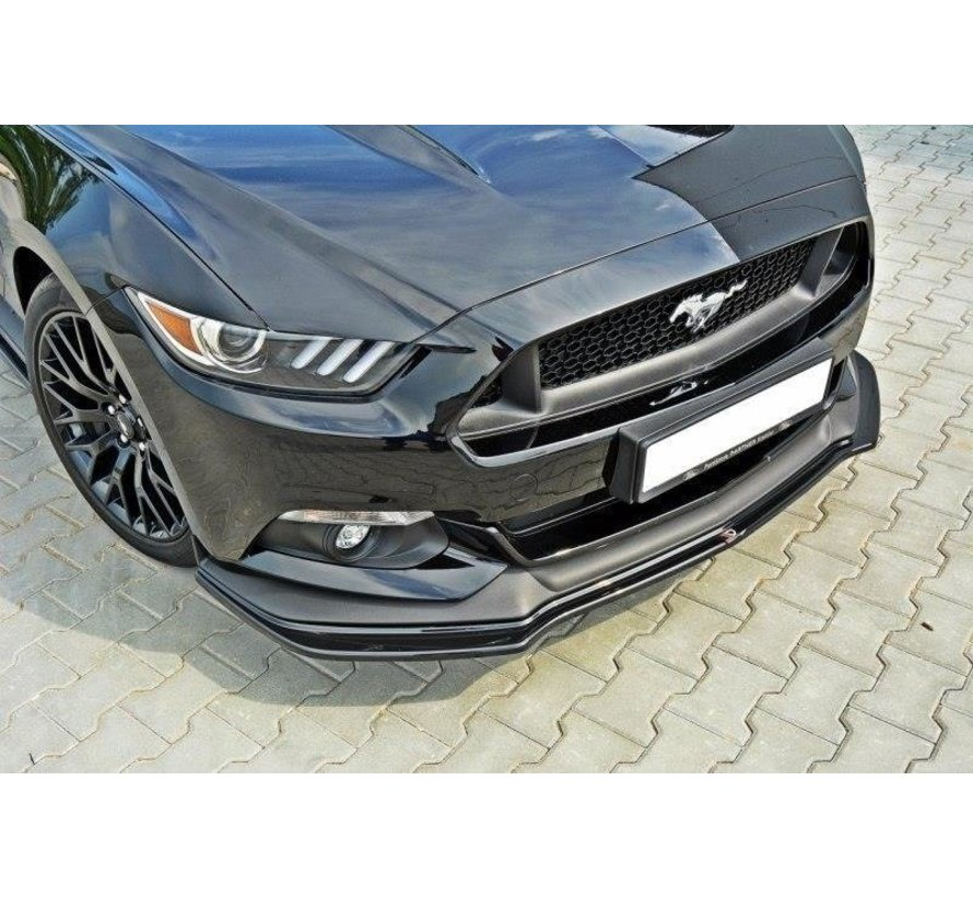 Maxton Design FRONT SPLITTER Ford Mustang GT Mk6