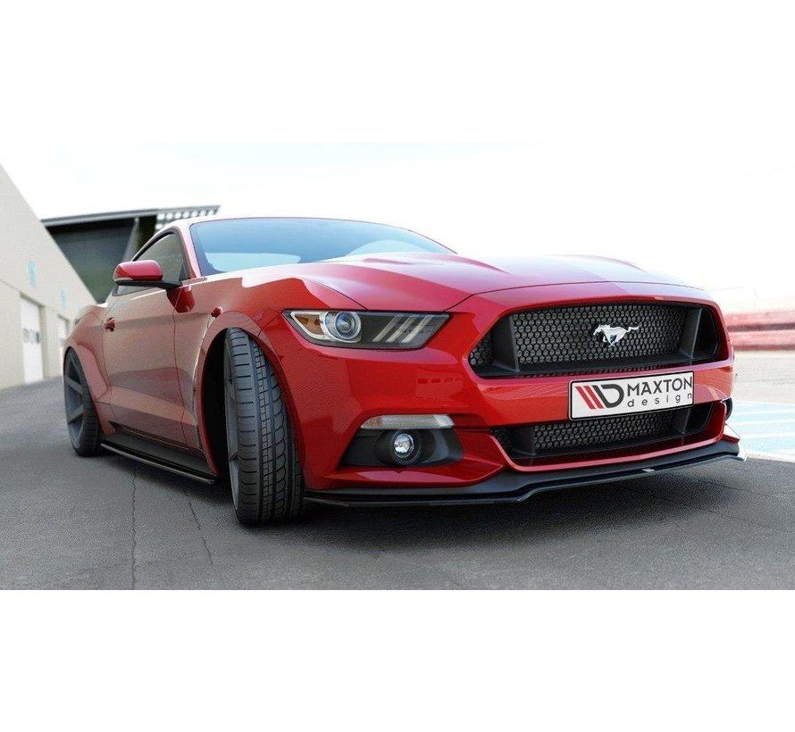 Maxton Design FRONT SPLITTER Ford Mustang Mk6