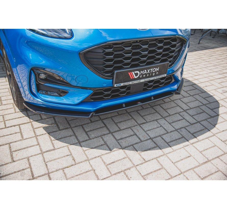 Maxton Design FRONT SPLITTER Ford Puma ST-Line