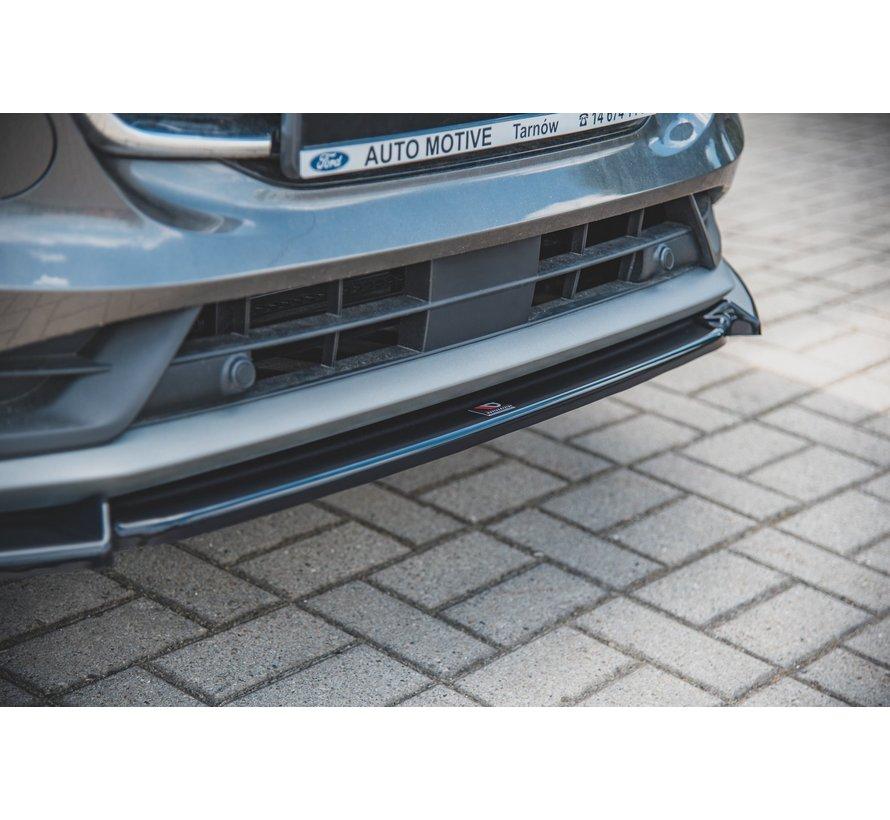 Maxton Design FRONT SPLITTER Ford Puma