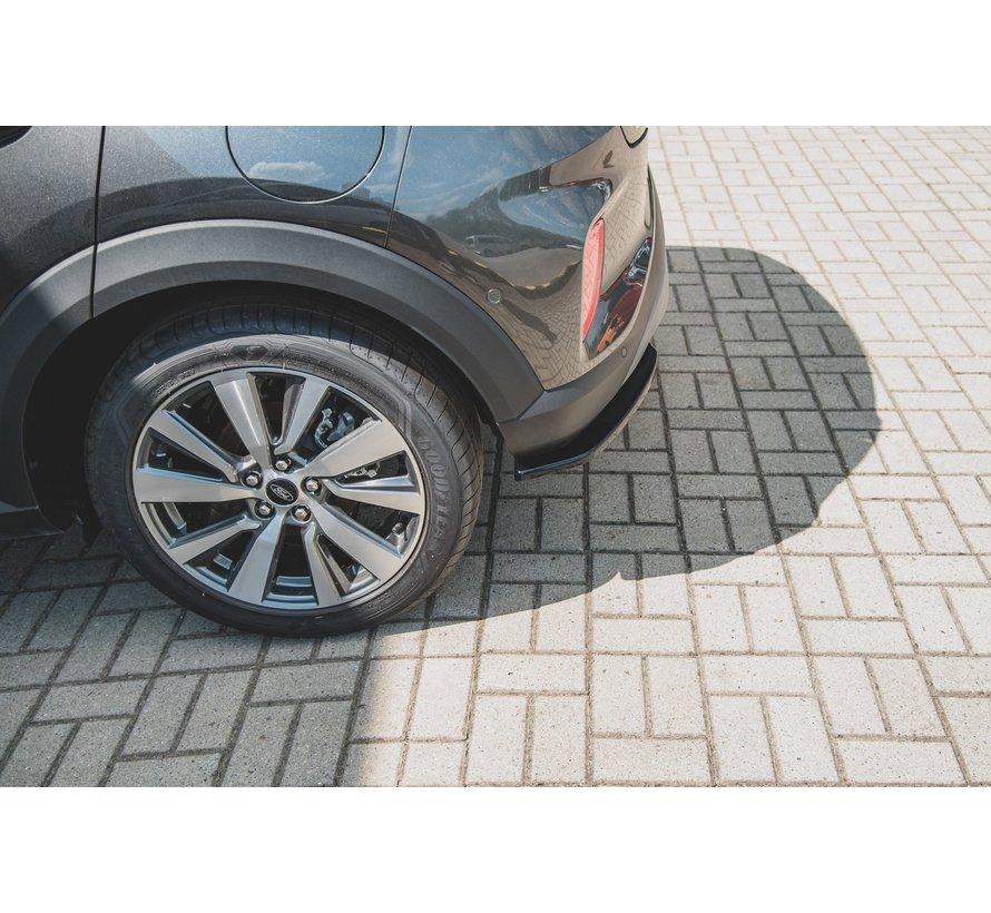 Maxton Design CENTRAL REAR DIFFUSER Ford Puma