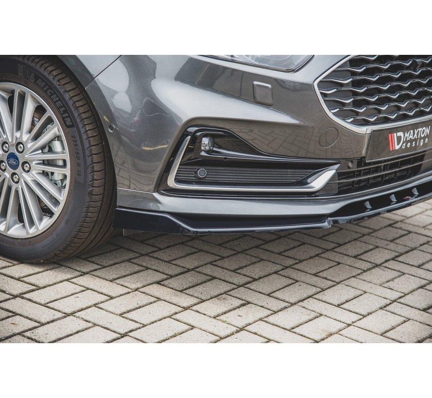 Maxton Design FRONT SPLITTER Ford S-Max Mk2 Facelift