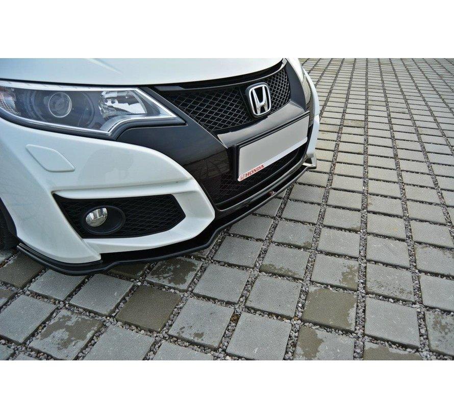 Maxton Design FRONT SPLITTER Honda Civic Mk9 Facelift