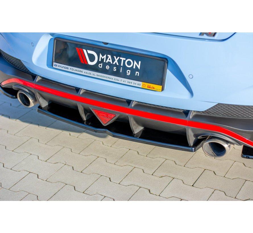 Maxton Design CENTRAL REAR DIFFUSER Hyundai I30 N Mk3 Fastback