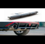 Maxton Design Maxton Design CENTRAL REAR DIFFUSER (with vertical bars) Hyundai I30 N Mk3 Fastback