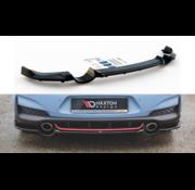 Maxton Design Maxton Design CENTRAL REAR DIFFUSER (with vertical bars) Hyundai I30 N Mk3 Hatchback