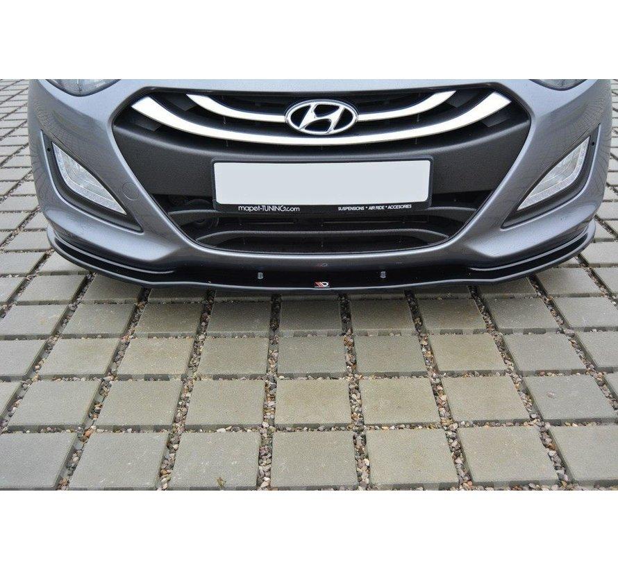 Maxton Design FRONT SPLITTER Hyundai i30 mk.2