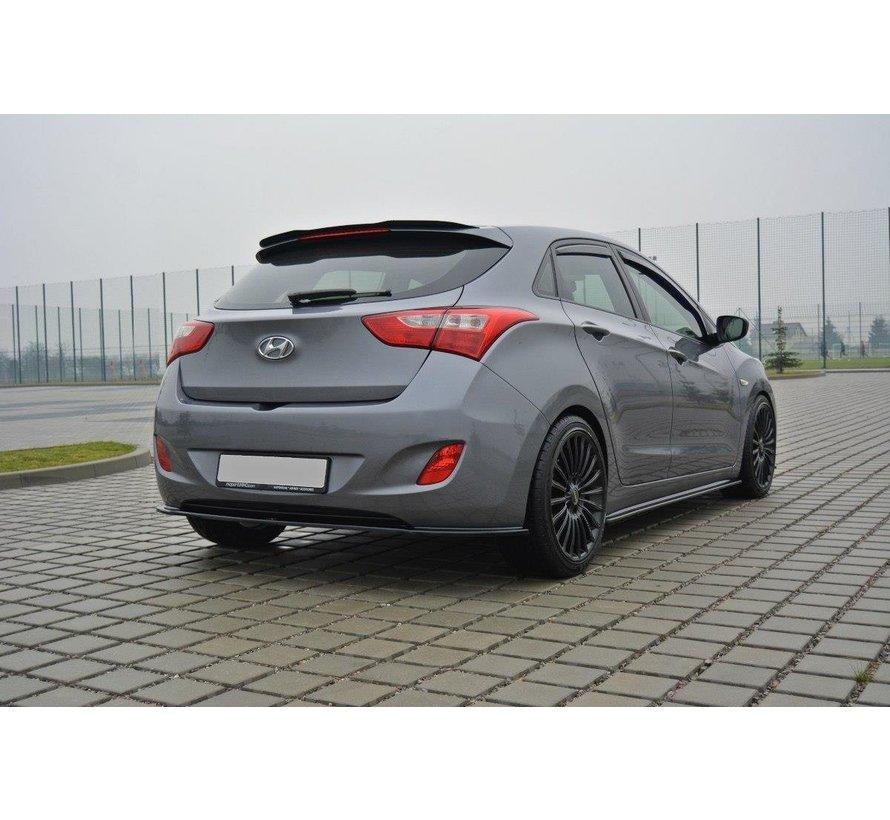 Maxton Design CENTRAL REAR DIFFUSER Hyundai i30 mk.2