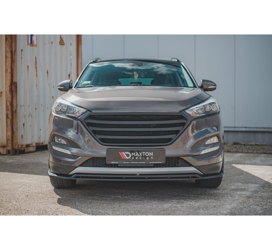 Maxton Design FRONT SPLITTER Hyundai Tucson Mk3