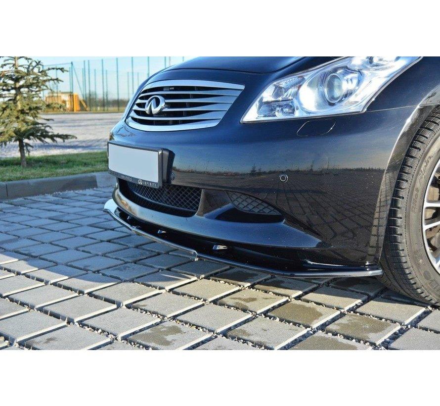 Maxton Design FRONT SPLITTER V.1 Infiniti G37 Sedan
