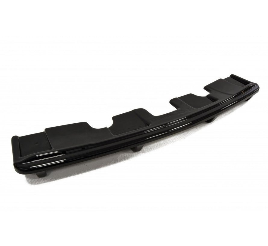 Maxton Design CENTRAL REAR DIFFUSER Jeep Grand Cherokee WK2 Summit FACELIFT (with a vertical bar)