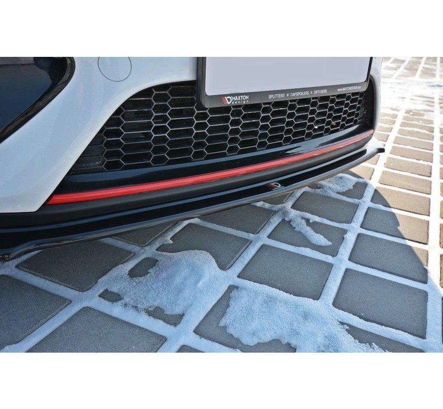 Maxton Design FRONT SPLITTER V.1 KIA CEE'D / PRO CEE'D GT MK2