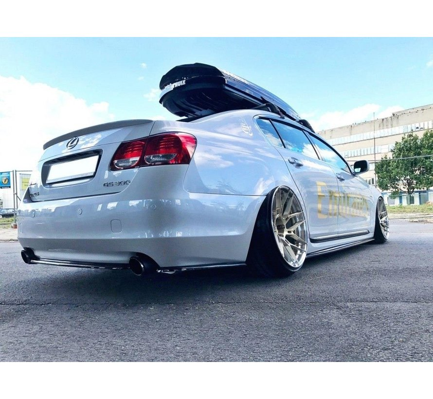 Maxton Design CENTRAL REAR DIFFUSER Lexus GS 300 Mk3 Facelift (without vertical bars)
