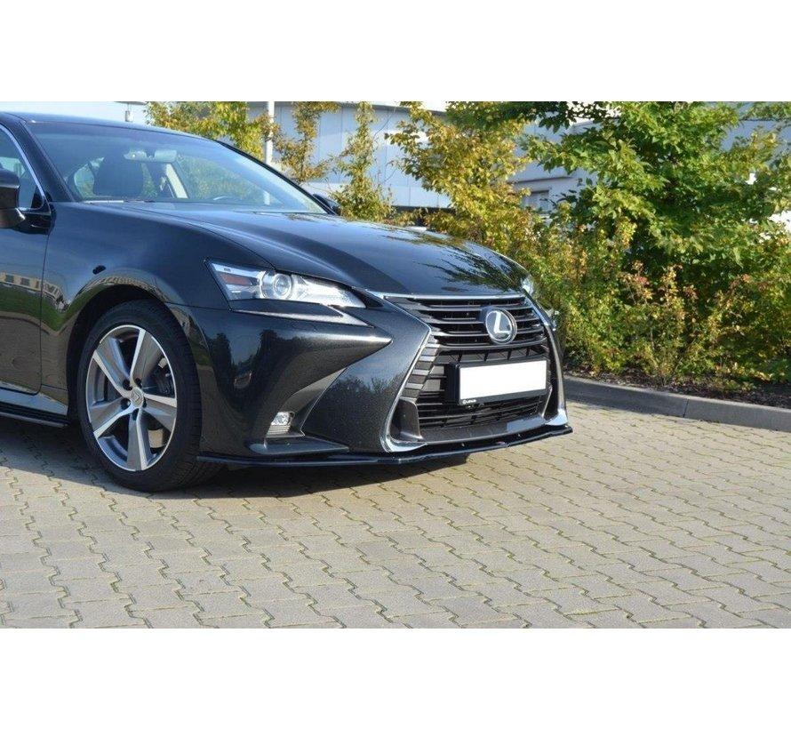 Maxton Design FRONT SPLITTER V.1 Lexus GS Mk4 Facelift