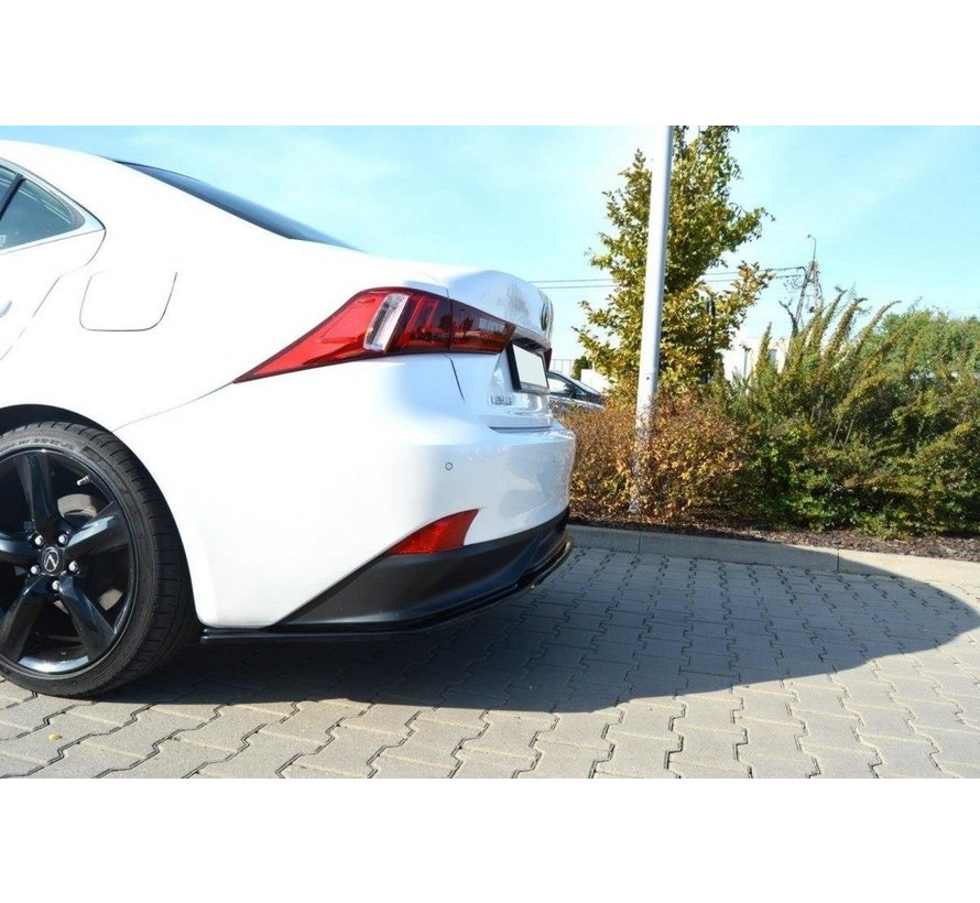 Maxton Design CENTRAL REAR DIFFUSER Lexus IS Mk3 H (without vertical bars)