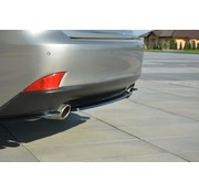 Maxton Design Maxton Design CENTRAL REAR DIFFUSER Lexus IS Mk3 T (without vertical bars)
