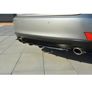 Maxton Design Maxton Design CENTRAL REAR DIFFUSER Lexus IS Mk3 T (with vertical bars)