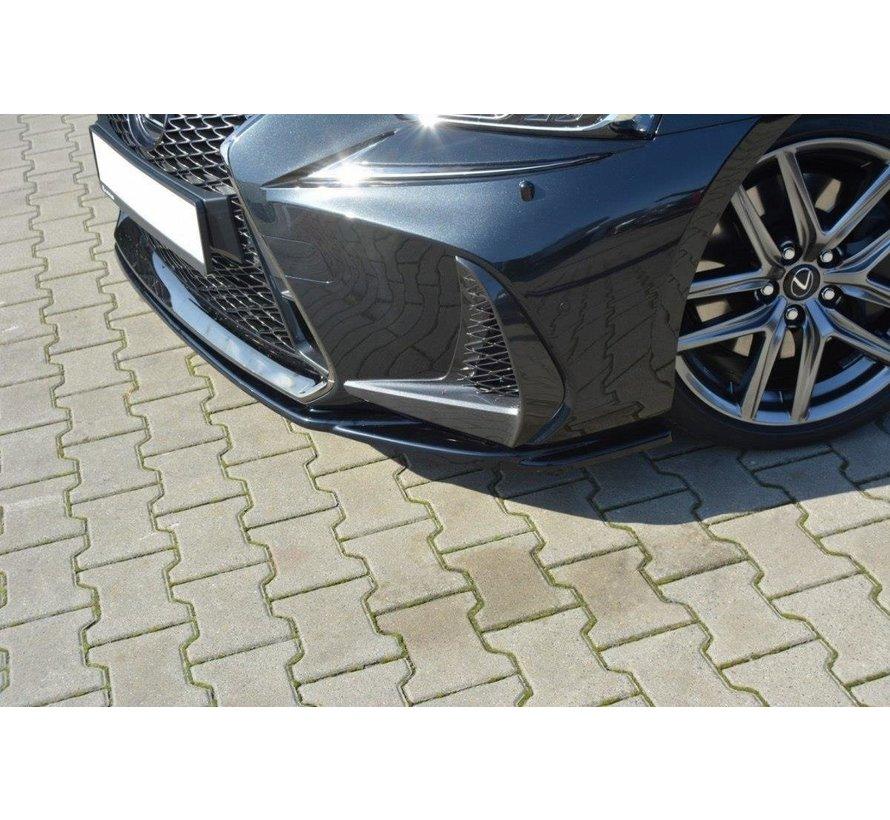 Maxton Design FRONT SPLITTER V.1 Lexus IS Mk3 Facelift F-Sport