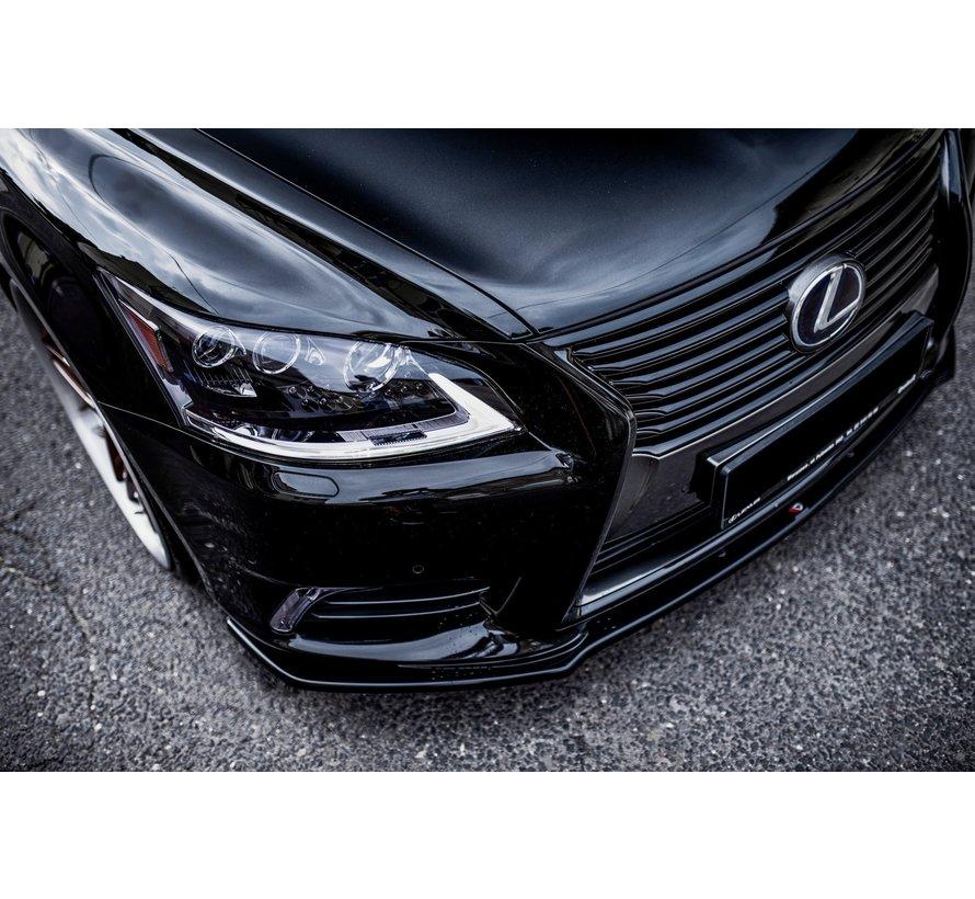 Maxton Design FRONT SPLITTER Lexus LS Mk4 Facelift