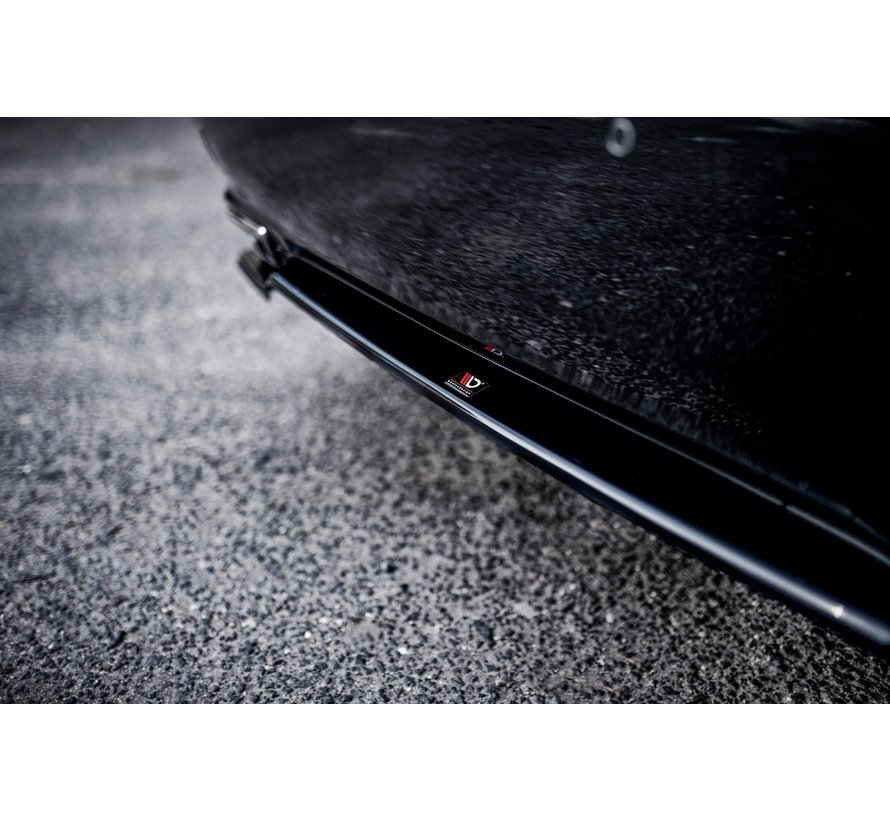 Maxton Design CENTRAL REAR DIFFUSER Lexus LS Mk4 Facelift