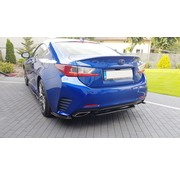 Maxton Design Maxton Design CENTRAL REAR DIFFUSER (WITHOUT VERTICAL BARS) Lexus Rc