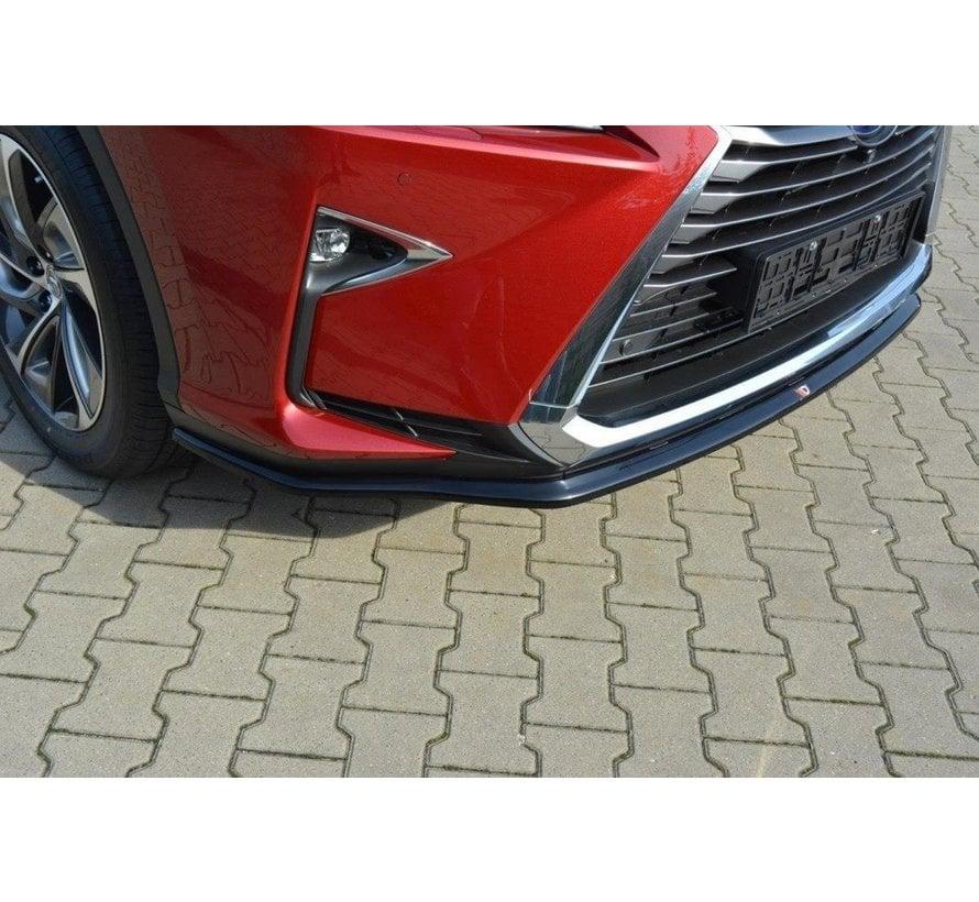 Maxton Design FRONT SPLITTER V.1 Lexus RX Mk4