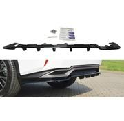 Maxton Design Maxton Design CENTRAL REAR DIFFUSER Lexus RX Mk4 H (with vertical bars)