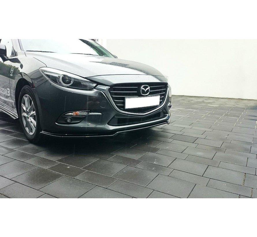 Maxton Design FRONT SPLITTER v.1 Mazda 3 BN (Mk3) Facelift