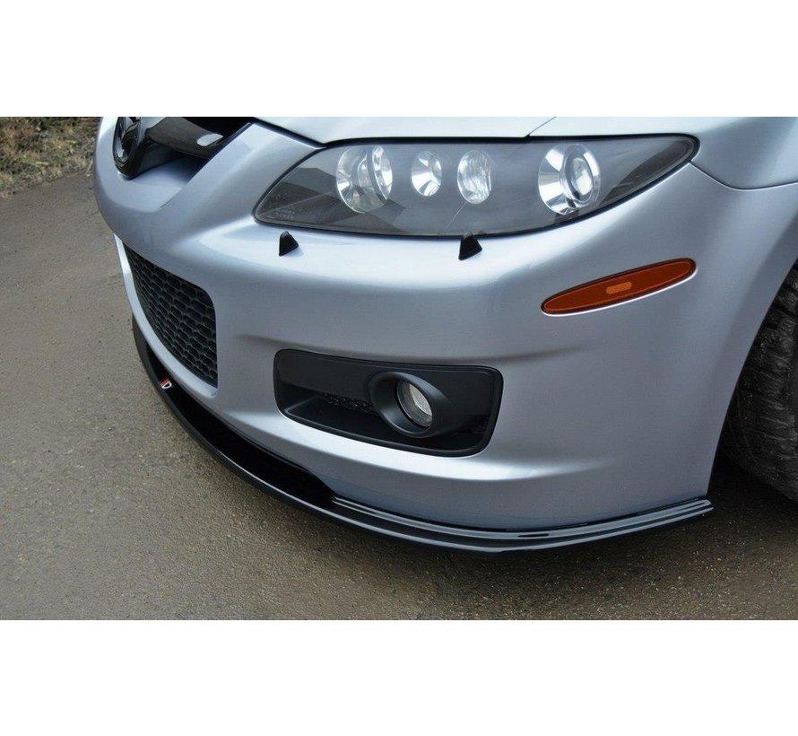 Maxton Design FRONT SPLITTER Mazda 6 Mk1 MPS