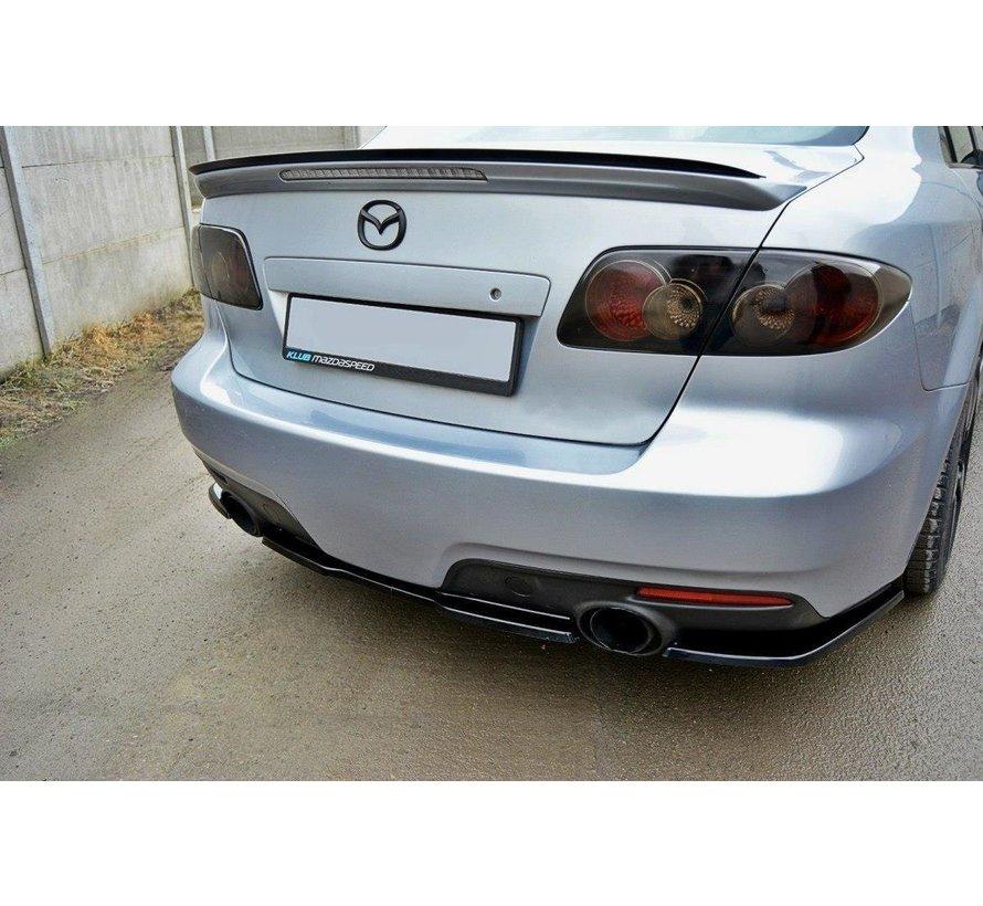 Maxton Design CENTRAL REAR DIFFUSER Mazda 6 Mk1 MPS