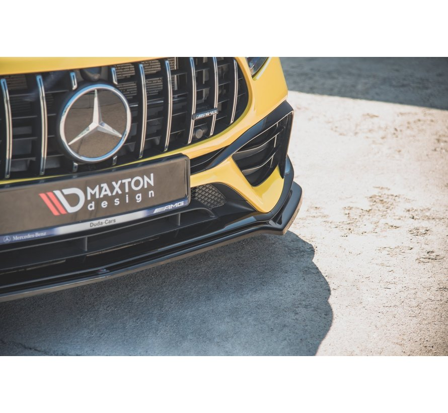 Maxton Design FRONT SPLITTER V.1 Mercedes-AMG A 45 S W177