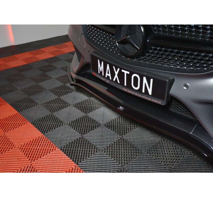 Maxton Design FRONT SPLITTER V.1 MERCEDES- BENZ C-CLASS W205 COUPE AMG-LINE