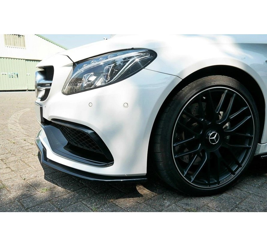 Maxton Design FRONT SPLITTER V.1 Mercedes C-class C205 63AMG Coupe