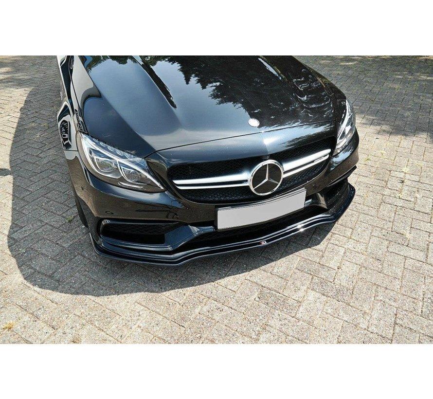 Maxton Design FRONT SPLITTER V.1 Mercedes C-Class S205 63AMG Estate