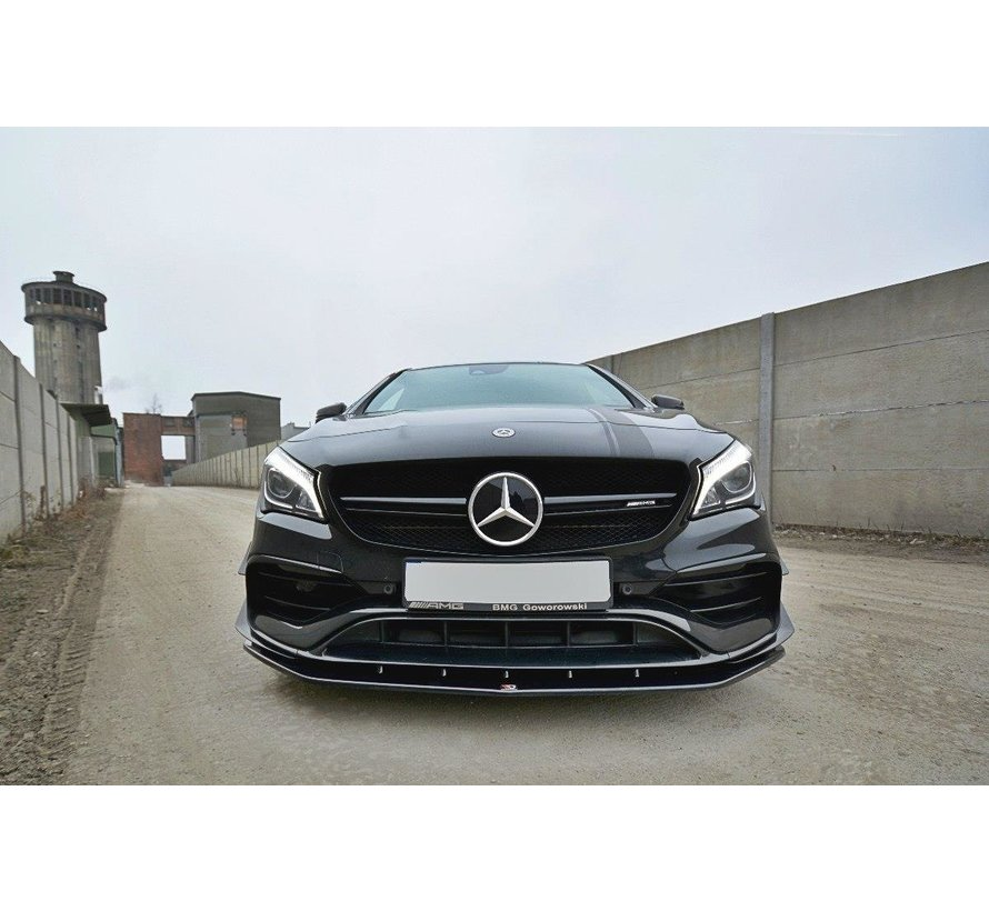 Maxton Design FRONT SPLITTER V.1 Mercedes CLA A45 AMG C117 Facelift