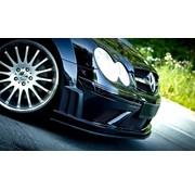 Maxton Design Maxton Design FRONT SPLITTER MERCEDES CLK W209 BLACK (SL BLACK SERIES LOOK)
