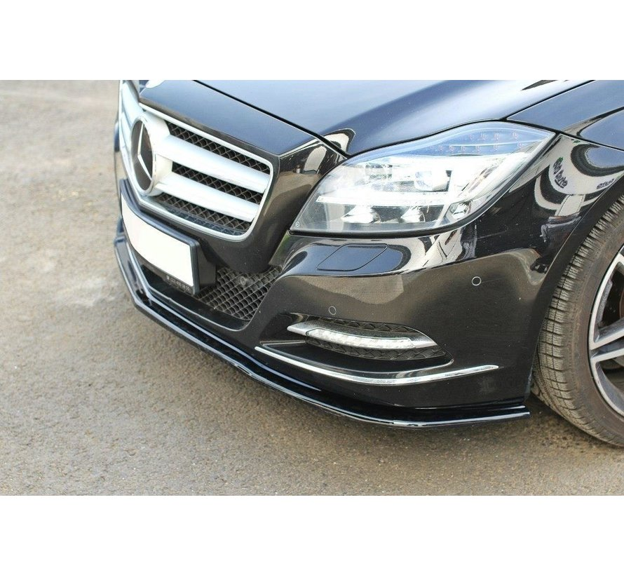 Maxton Design FRONT SPLITTER V.1 Mercedes CLS C218