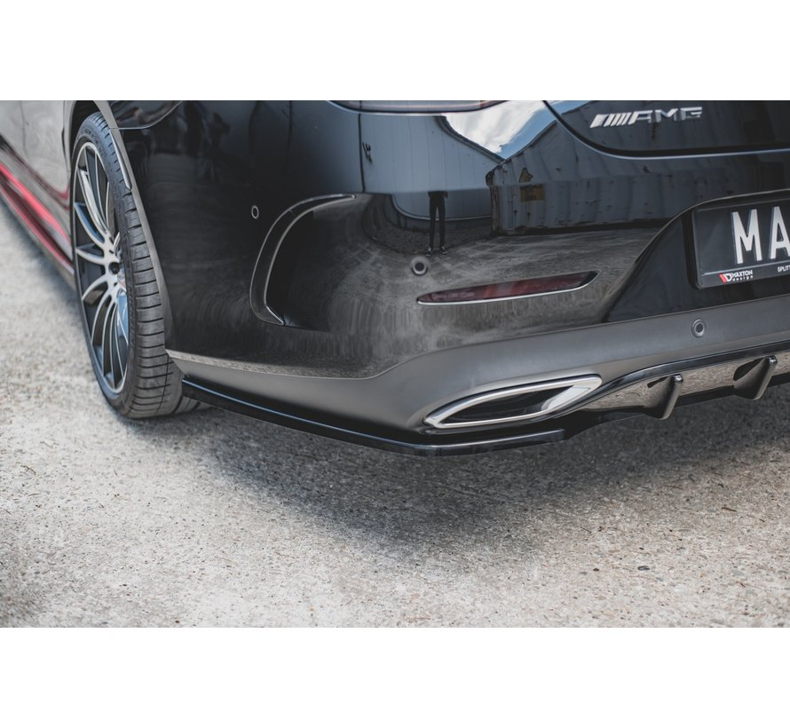 Maxton Design CENTRAL REAR DIFFUSER Mercedes-Benz CLS AMG-Line C257