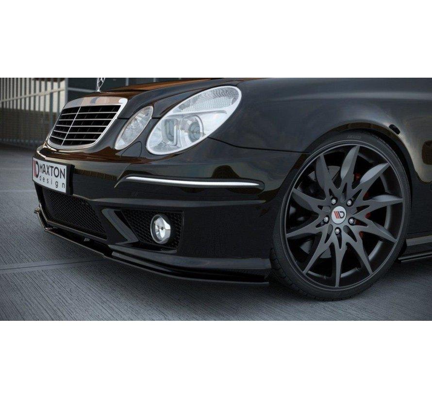 Maxton Design FRONT SPLITTER MERCEDES E W211 AMG FACELIFT