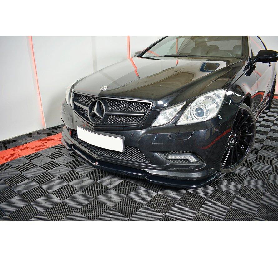 Maxton Design FRONT SPLITTER Mercedes-Benz E-Class W207 Coupe AMG-Line