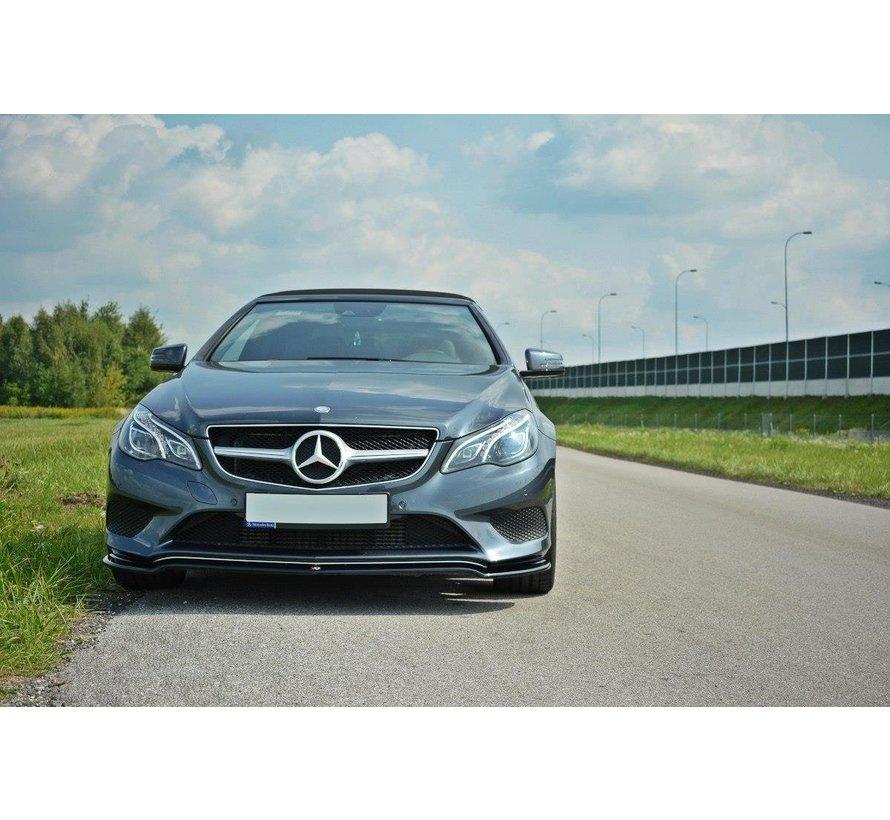 Maxton Design FRONT SPLITTER V.1 Mercedes E W212