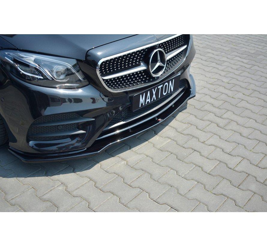 Maxton Design FRONT SPLITTER V.1 Mercedes-Benz E-Class W213 Coupe (C238) AMG-Line