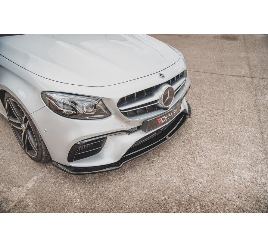 Maxton Design FRONT SPLITTER V.1 Mercedes-Benz E63 AMG Estate/Sedan S213/W213