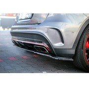 Maxton Design Maxton Design CENTRAL REAR DIFFUSER (WITHOUT VERTICAL BARS) MERCEDES-BENZ GLA 45 AMG SUV (X156) PREFACE