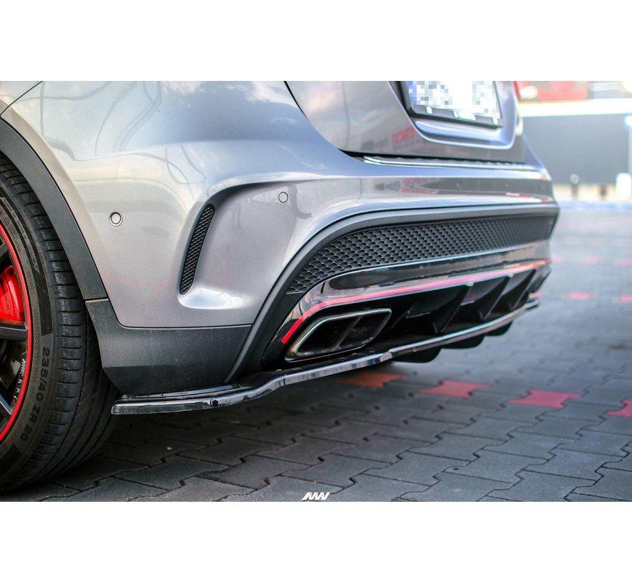 Maxton Design CENTRAL REAR DIFFUSER (WITH VERTICAL BARS) MERCEDES-BENZ GLA 45 AMG SUV (X156) PREFACE