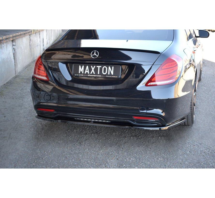 Maxton Design CENTRAL REAR DIFFUSER MERCEDES-BENZ S-CLASS AMG-LINE W222