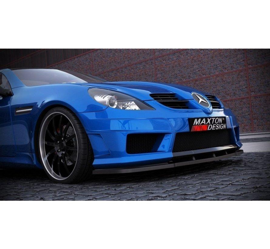 Maxton Design FRONT SPLITTER Mercedes SLK R171 (for Me-SLK -r171-AMG172-f1)