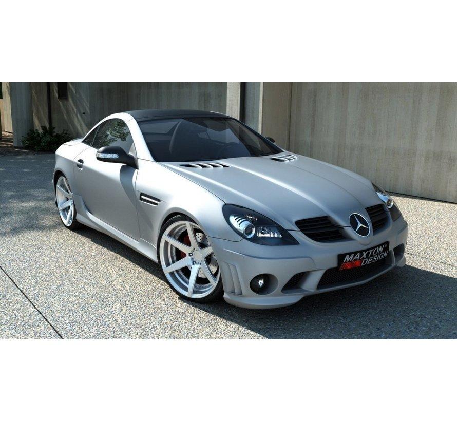 Maxton Design FRONT BUMPER Mercedes SLK R171 AMG 204 Look
