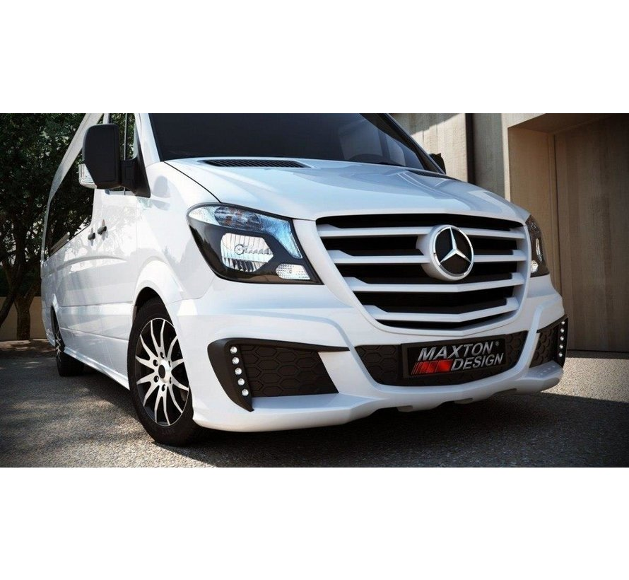 Maxton Design FRONT BUMPER MERCEDES SPRINTER 2013-UP WITHOUT LED